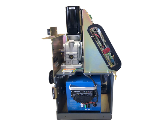 Linkable small photo of Maximum Controls Max Solar Pack used in a Maximum Controls slide gate operator